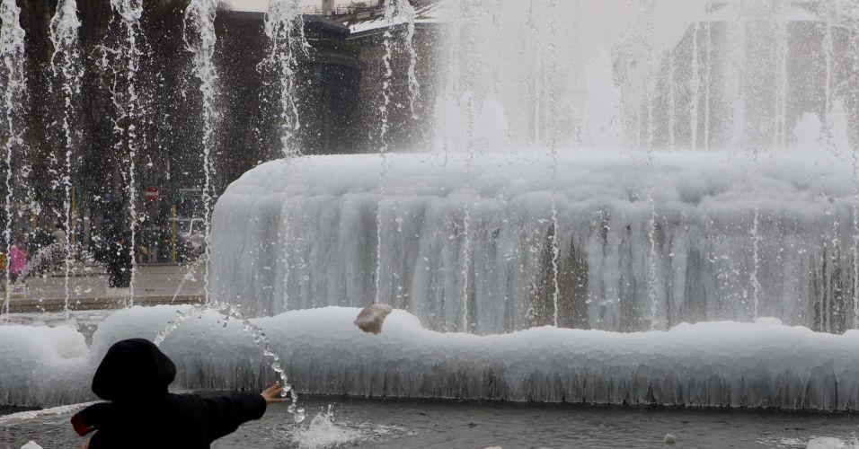 Frio na Itália