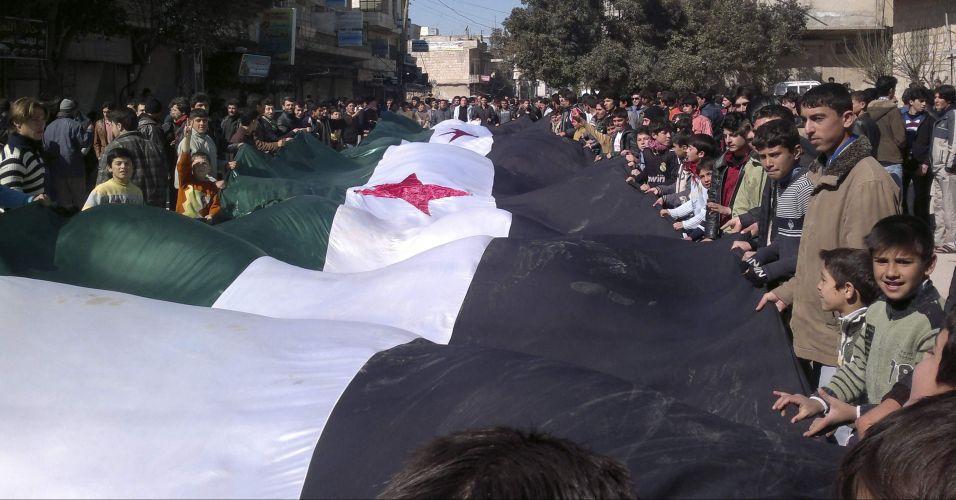 Protesto na Síria
