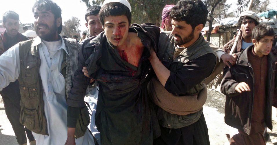 Protestos em Cabul