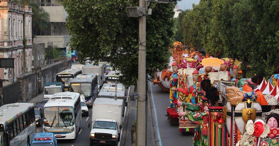 Desfile no Rio