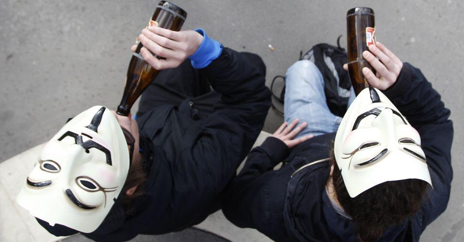 Manifestação em Viena