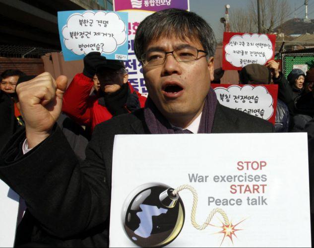 Protesto contra guerra