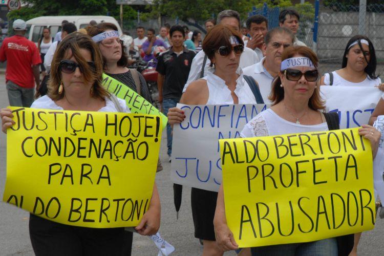 Protesto em São Paulo