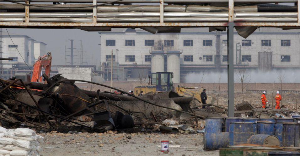Explosão na China