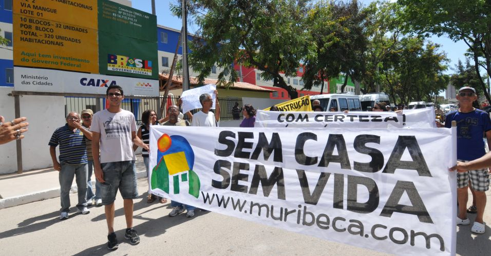 Protesto no Recife