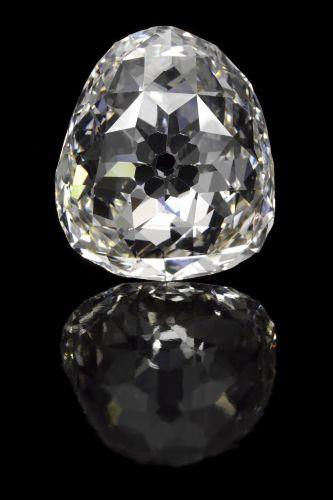 Leilão de diamante