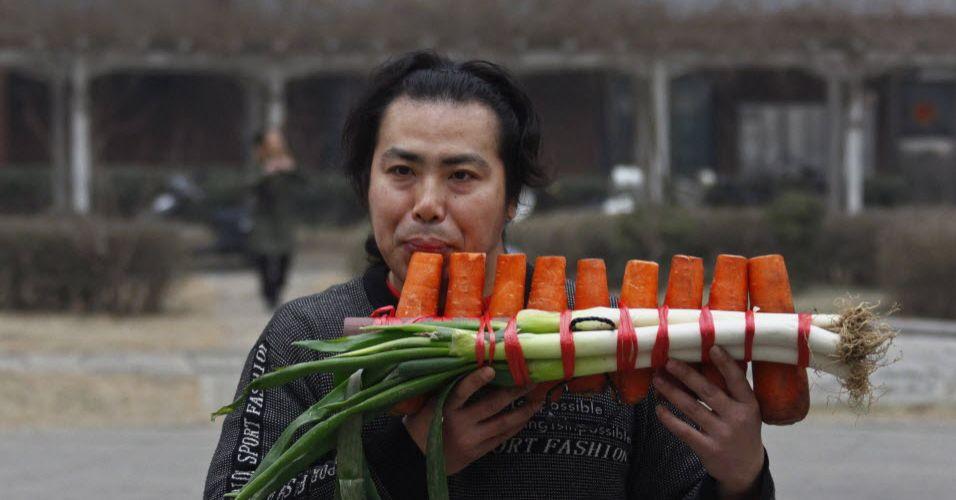 Flauta de cenoura (China)