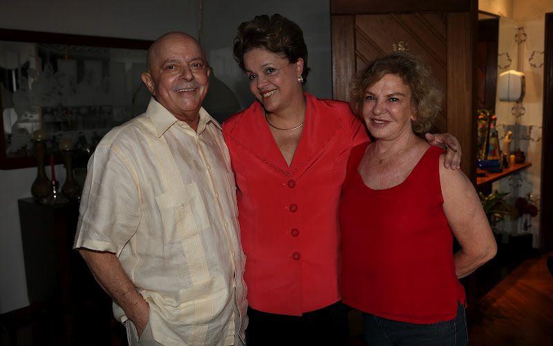 Dilma e Lula (SP)