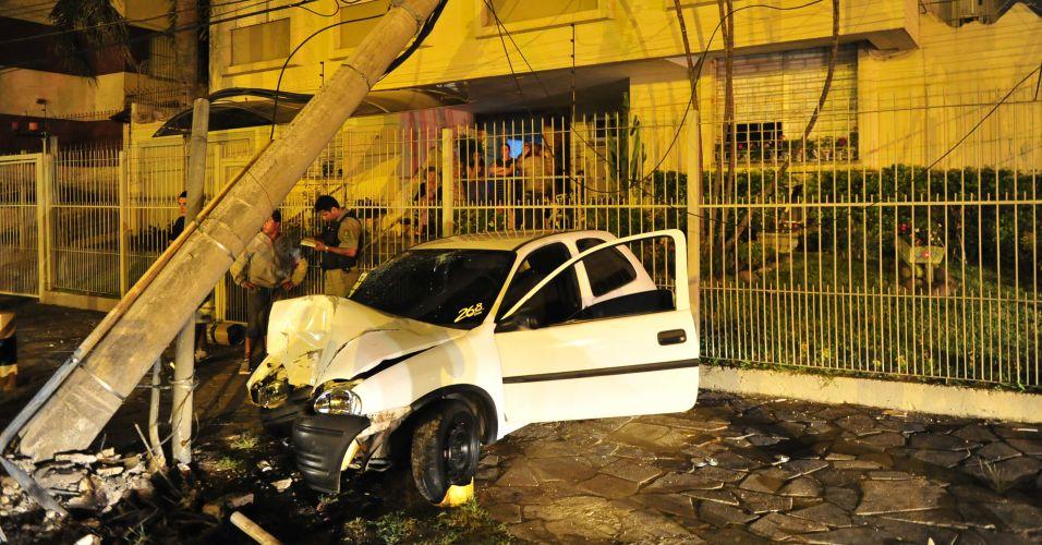 Acidente em Porto Alegre