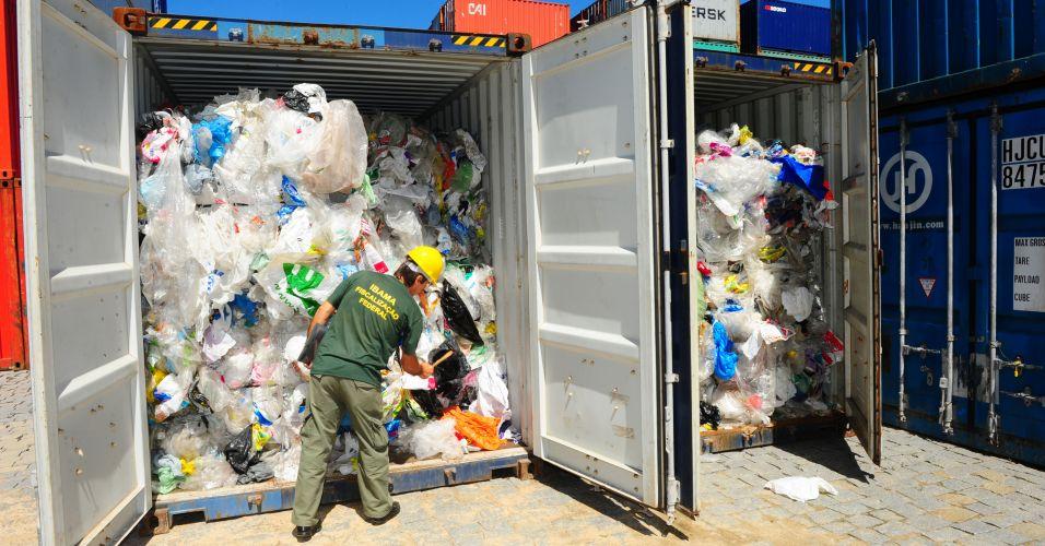 Lixo importado (SC)