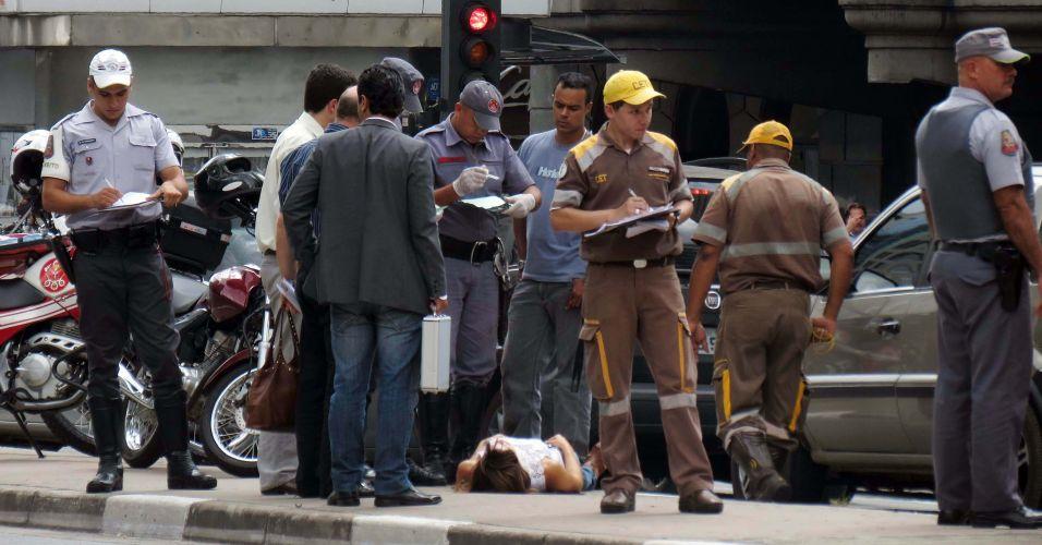 Atropelamento na Paulista (SP)