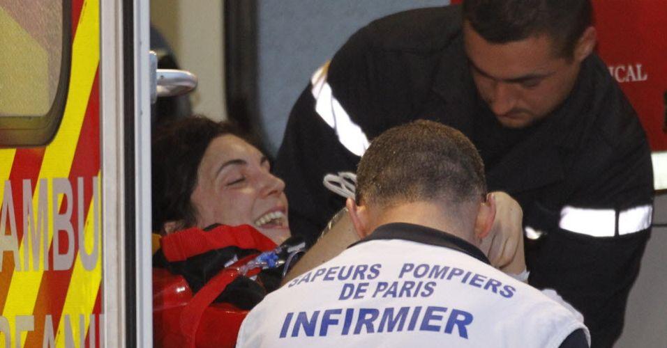 Jornalista socorrida (França)