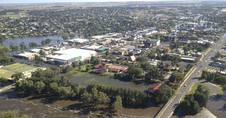 Enchentes na Austrália