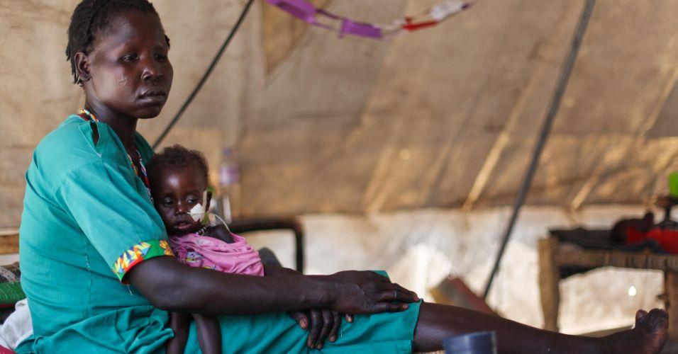 Campo de refugiados Sudão do Sul
