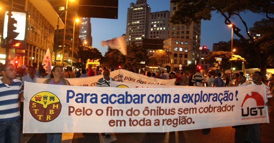 Protesto em Minas Gerais